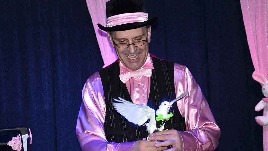 magicien pour maison de la culture et bibliothèque
