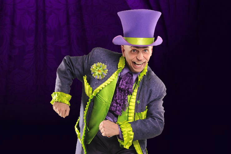 Roger Benoit the magician for children's birthday parties